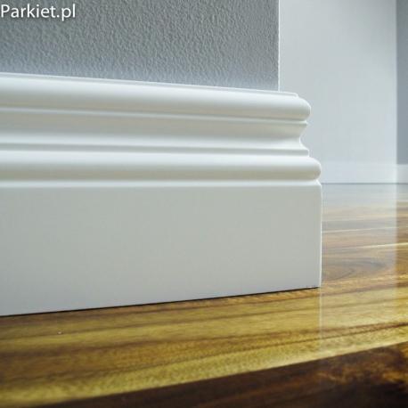 Biala listwa podlogowa lakierowana - Profil CM 71