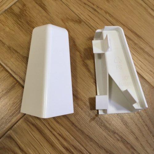 Narożniki zewnętrzne do listwy Piccolo - 58/20 mm