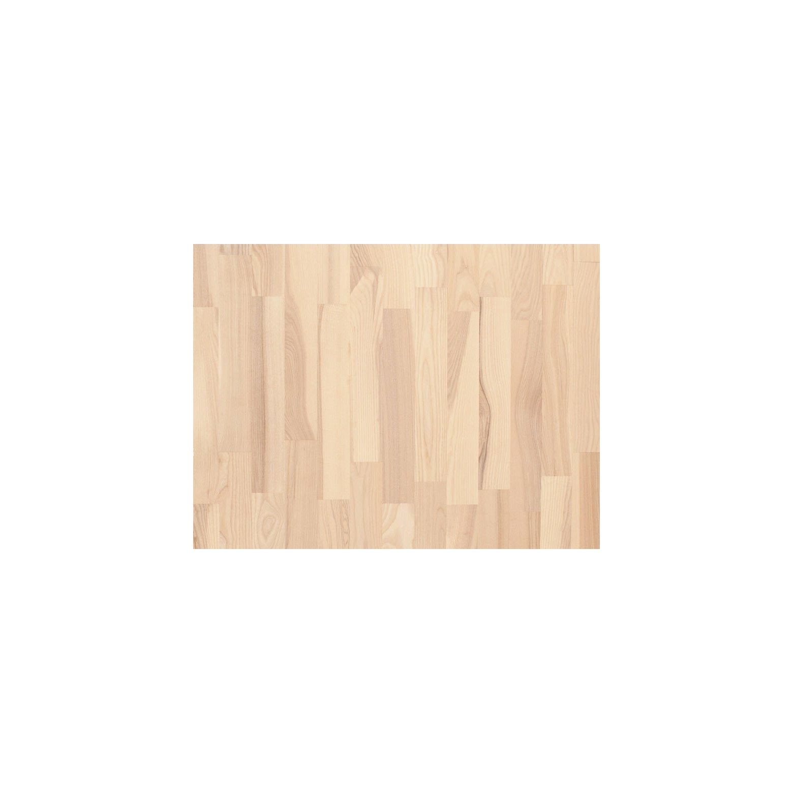 Jesion bielony - Parkiet warstwowy Finishparkiet (490/70 mm)
