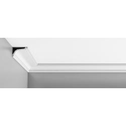 Listwa przysufitowa gładka ODC220F (wym.200x11.6x7.6cm)