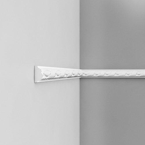 Listwa ścienna zdobiona ODP1020F (wym.200x2.4x4.9cm)