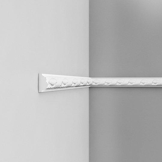 Listwa ścienna zdobiona gięta (flex) P1020F (wym.200x2.4x4.9cm)
