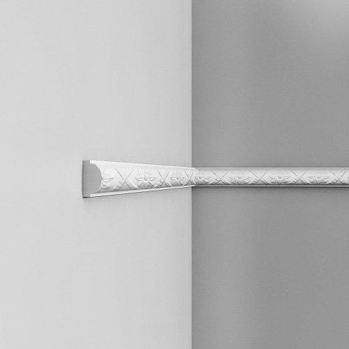 Listwa ścienna zdobiona ODP2020 (wym.200x2.6x4.4cm)
