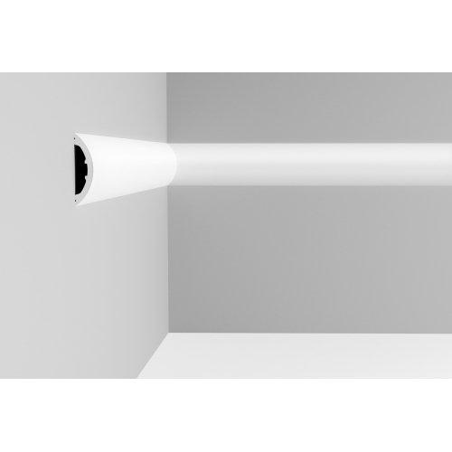 Listwa ścienna gładka ODP3070 (wym.200x3.2x12.5cm)