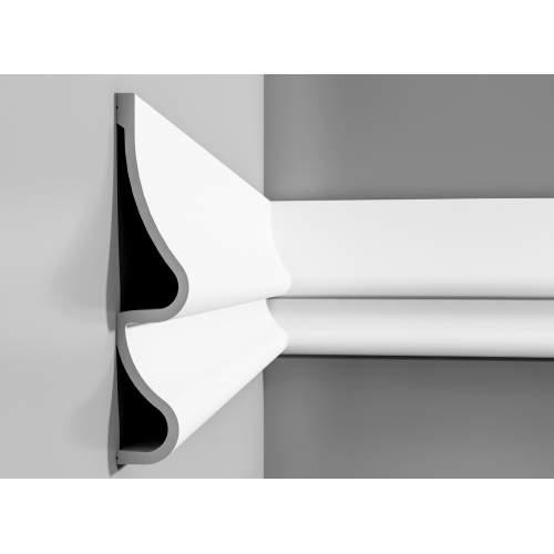 Listwa ścienna gładka P3071 (wym.200x7.6x37.2cm)