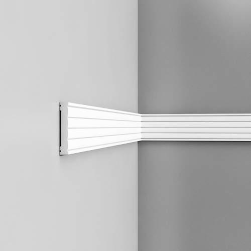Listwa ścienna gładka P5020 (wym.200x1.3x9.1cm)