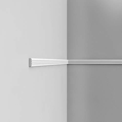 Listwa ścienna gładka P5021 (wym.200x0.9x3.1cm)