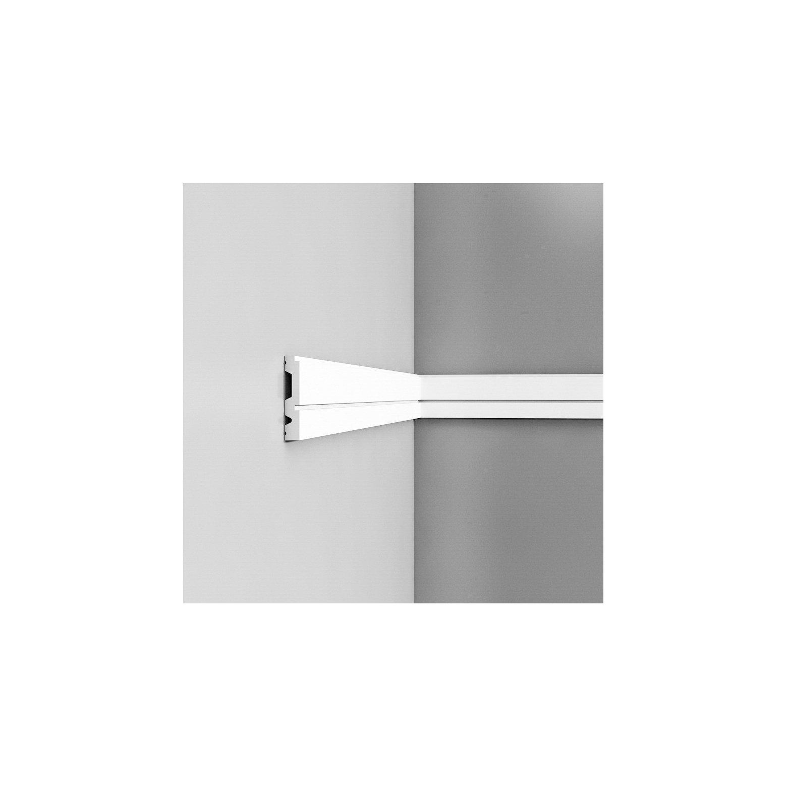 Listwa ścienna gładka ODP5051* (wym.200x1.5x8.4cm)