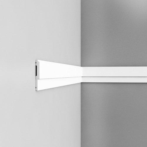 Listwa ścienna gładkaODP9900* (wym.200x1x8cm)