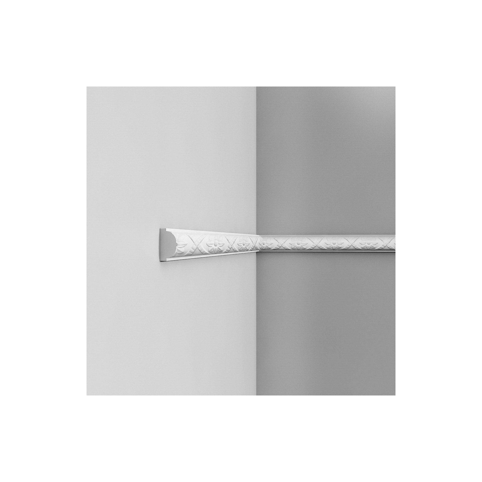 Listwa ścienna zdobiona ODP2020F (wym.200x2.6x4.4cm)