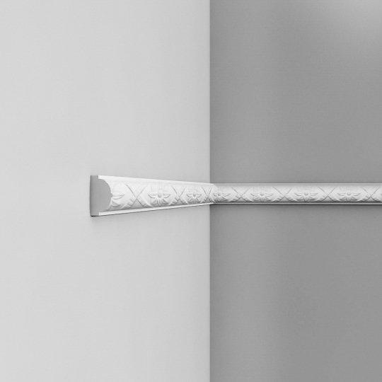Listwa ścienna zdobiona gięta (flex) P2020F (wym.200x2.6x4.4cm)