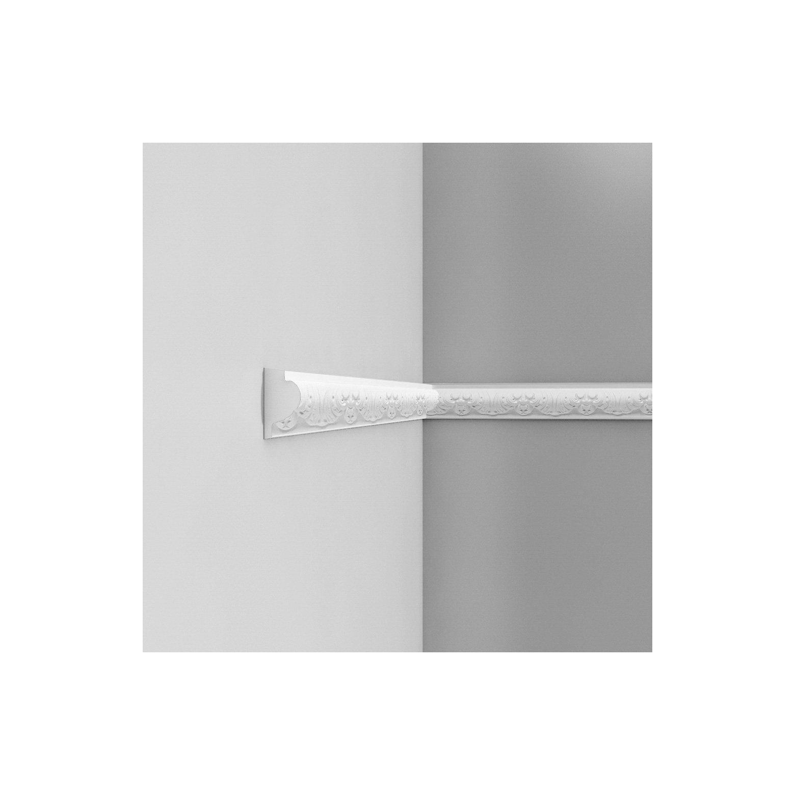 Listwa ścienna zdobiona ODP3020F (wym.200x3.2x6.1cm)