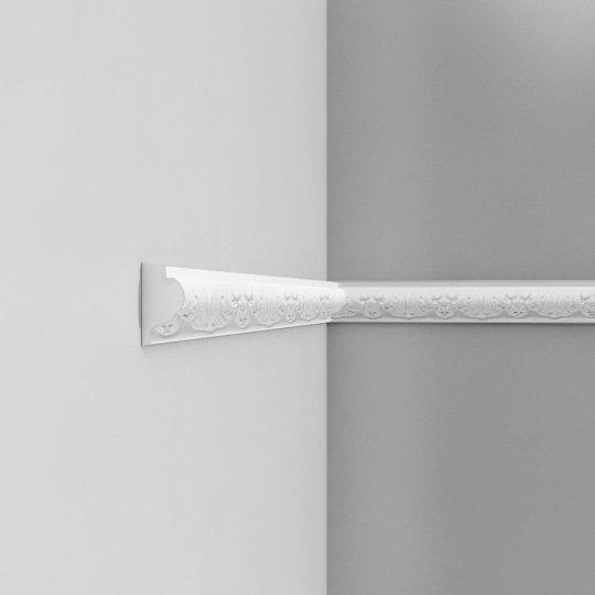 Listwa ścienna zdobiona gięta (flex) P3020F (wym.200x3.2x6.1cm)