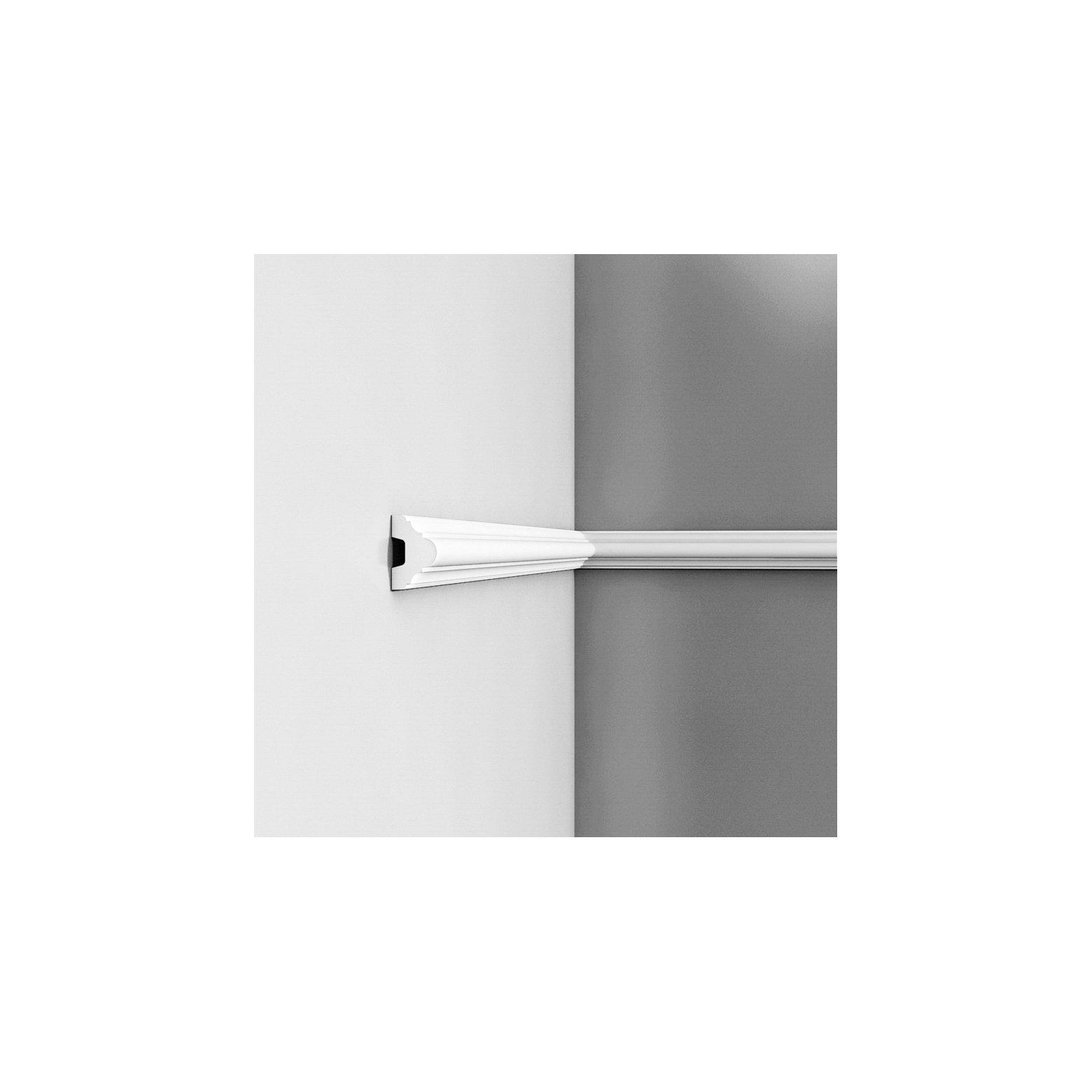 Listwa ścienna gładka gięta ODP4020F (wym.200x2.9x5cm)