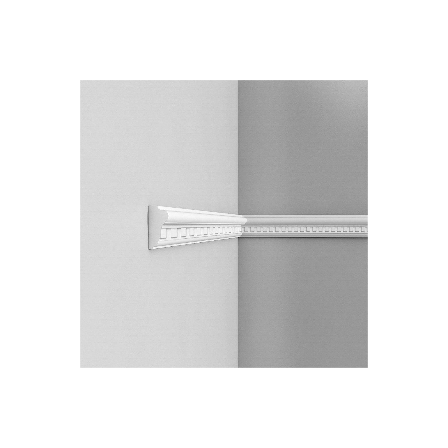 Listwa ścienna zdobiona gięta ODP6020F (wym.200x2.8x6.4cm)