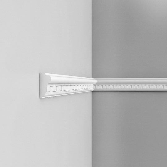 Listwa ścienna zdobiona gięta (flex) P6020F (wym.200x2.8x6.4cm)