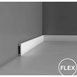 Listwa ścienna wielofunkcyjna gięta (flex) DX157F (wym.200x1.3x6.6cm)