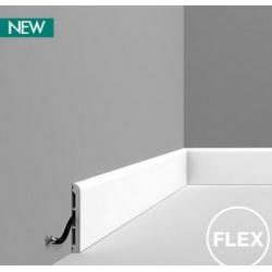 Listwa wielofunkcyjna gładka gięta (flex) DX184F (wym.200x1.3x11cm)