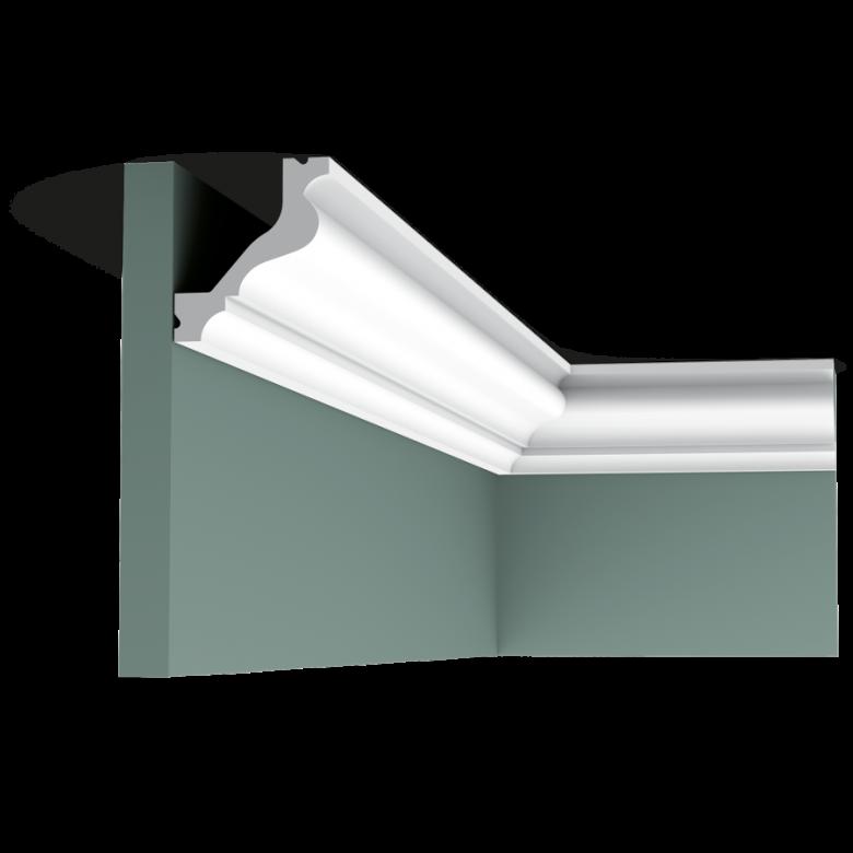 Listwa przysufitowa gładka C200* (wym. 200x5.7x6.5)