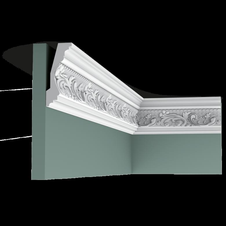Listwa przysufitowa zdobiona C201 (wym. 200x4.8x11.6 cm)