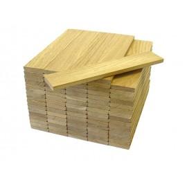 Dąb (10 x 50 x 200) - parkiet lamelowy / lamparkiet