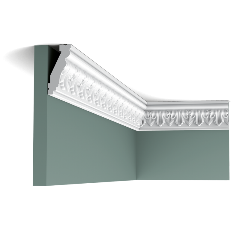 Listwa przysufitowa zdobiona C214 (wym. 200x3.1x6.6cm)