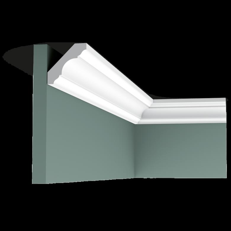 Listwa przysufitowa gładka ODC215* (wym. 200x4.7x4.7 cm)
