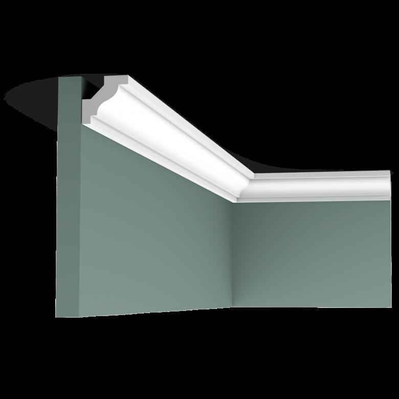 Listwa przysufitowa gładka C230 (wym.200x2.9x2.9cm)
