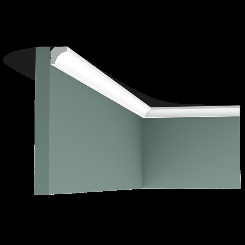 Listwa przysufitowa gładka C250 (wym.200x1.6x1.6cm)