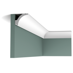 Listwa przysufitowa gładka C260 (wym.200x4.8x4.1cm)