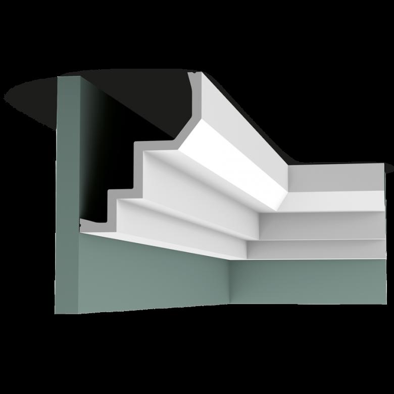 Listwa przysufitowa gładka C300 (wym.200x13x16.5cm)