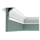 Listwa przysufitowa zdobiona C304 (wym.200x7.2x12.2cm)