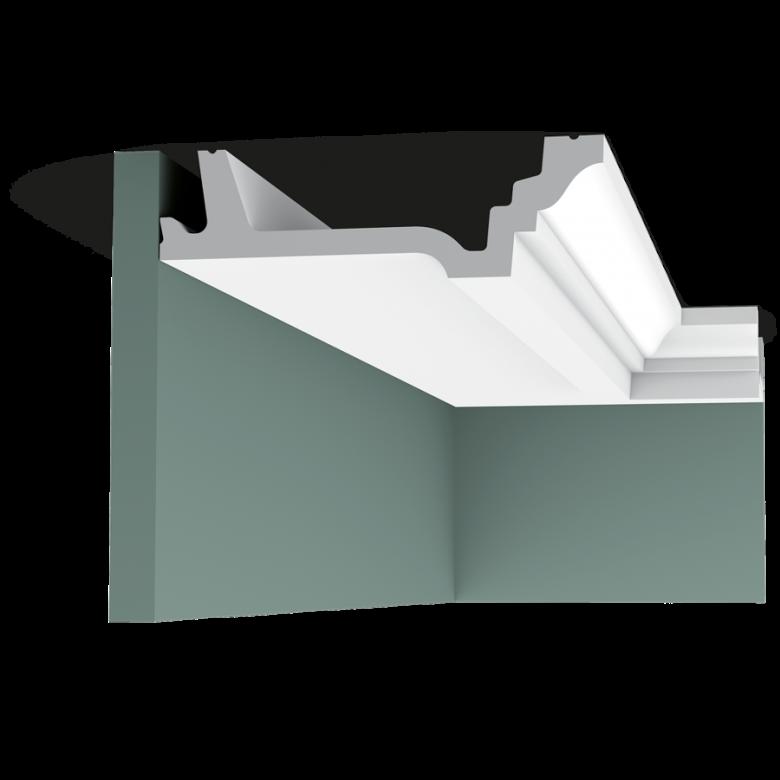 Listwa przysufitowa gładka C305 (wym.200x15.5x4.7cm)