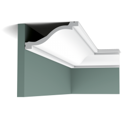 Listwa przysufitowa gładka C331 (wym.200x13.5x6.4cm)