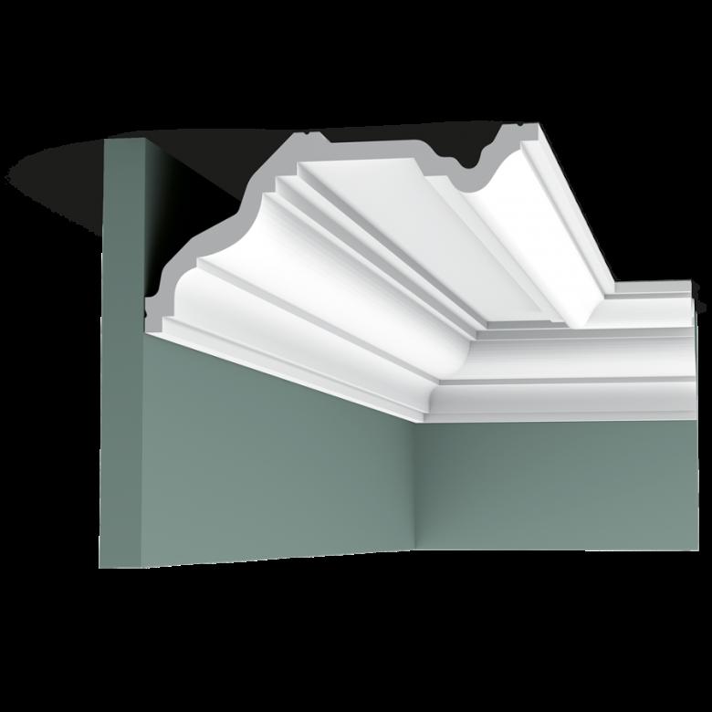 Listwa przysufitowa gładka C332* (wym.200x23x11.4cm)