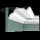 Listwa przysufitowa gładka C332 (wym.200x23x11.4cm)