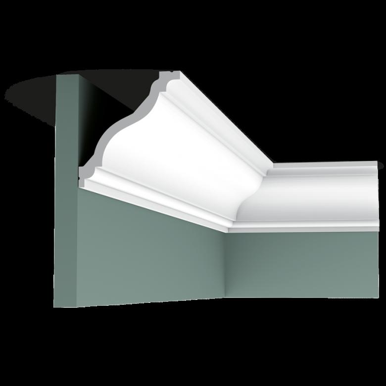 Listwa przysufitowa gładka C333* (wym.200x11.1x12.2cm)