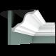 Listwa przysufitowa gładka C334 (wym.200x19.6x15cm)
