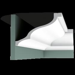 Listwa przysufitowa gładka C337 (wym.200x25.6x17.2cm)