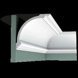 Listwa przysufitowa gładka C338(wym.200x18.4x18.4cm)