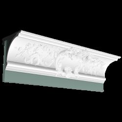 Listwa przysufitowa zdobiona C338A* (wym.200x18.4x18.4 cm)