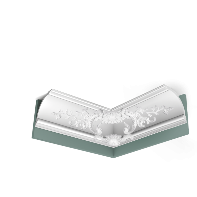 Listwa przysufitowa zdobiona C338B* (wym.200x18.4x 18.4cm)