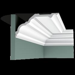 Listwa przysufitowa gładka C340* (wym.200x25.6x13.5cm)