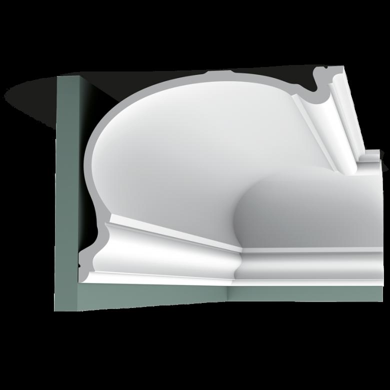 Listwa przysufitowa gładka C344 (wym.200x35x27.3cm)
