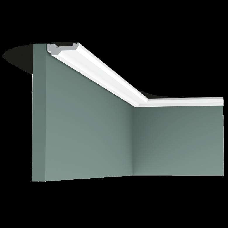 Listwa przysufitowa gładka C360 (wym.200x6x2.1cm)