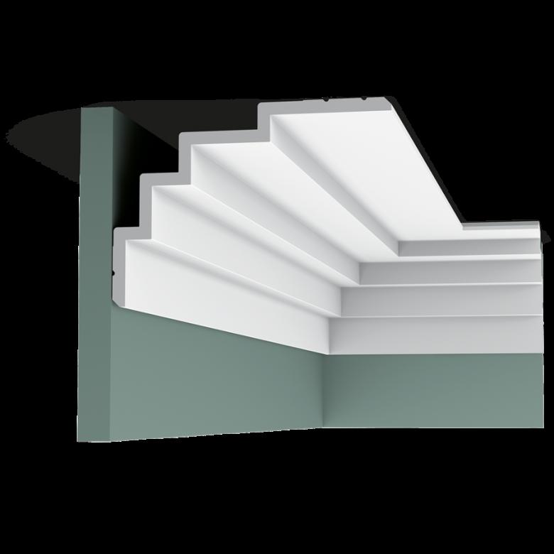 Listwa przysufitowa gładka C393* (wym.200x21x15cm)