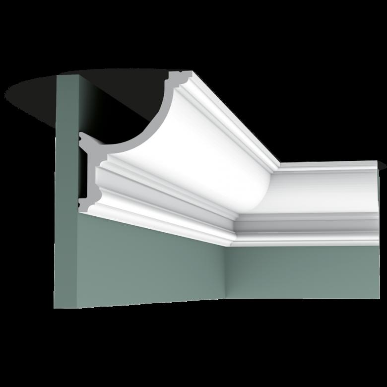 Listwa przysufitowa gładka C901* (wym.200x12.4x14.8cm)