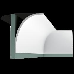 Listwa przysufitowa gładka C990* (wym.200x21.6x15.9cm)