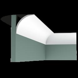 Listwa przysufitowa gładka CX126 (wym.200x8.7x8.7cm)