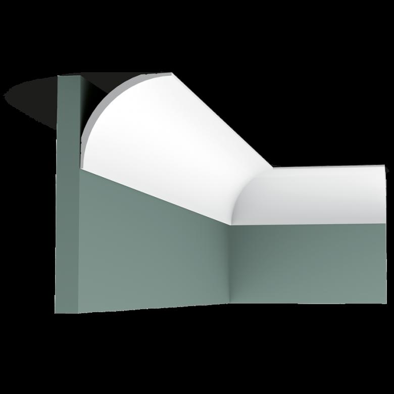 Listwa przysufitowa gładka CX126* (wym.200x8.7x8.7cm)